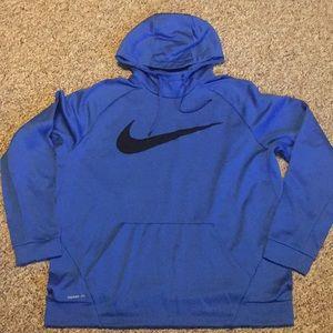 Nike Men's Royal Blue Therma-Fit Hoody Size XXL